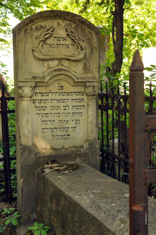 Jewish Cemetery Iasi Romania 004