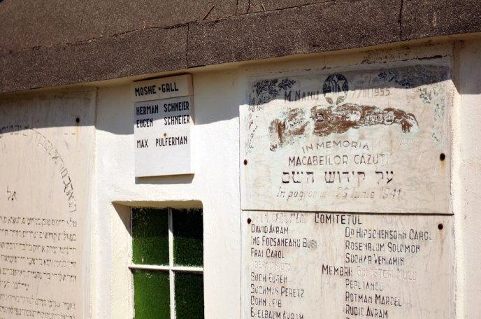 Jewish Cemetery Iasi Romania 011