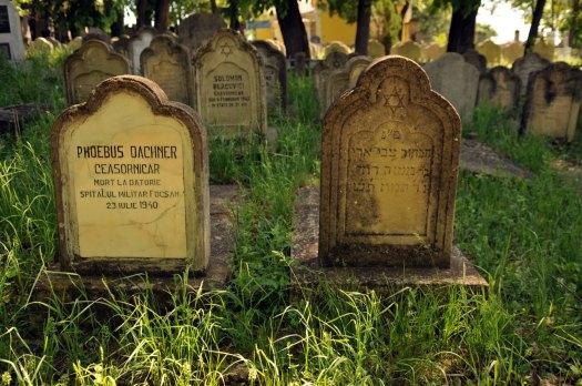Jewish Cemetery Iasi Romania 021